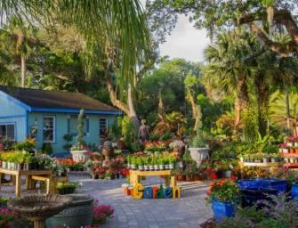 Des objets récup' pour décorer votre jardin