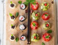 Dernière tendance culinaire : Les sushis sucrés