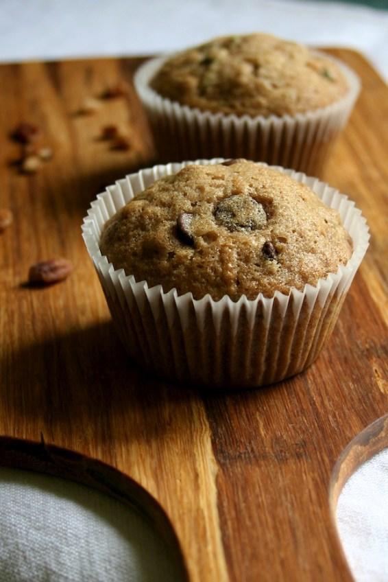 zucchini muffins | movita beaucoup