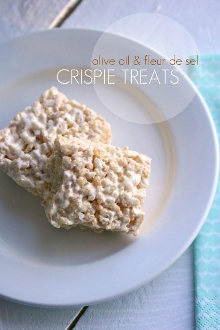 movita's crispie treats
