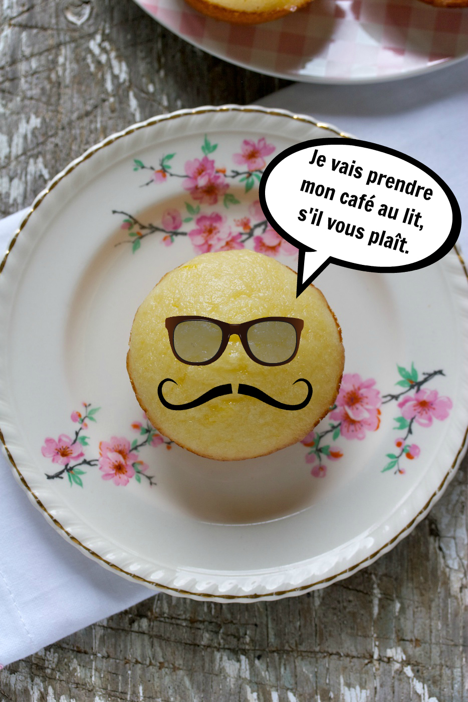 lemon tea muffins   movita beaucoup