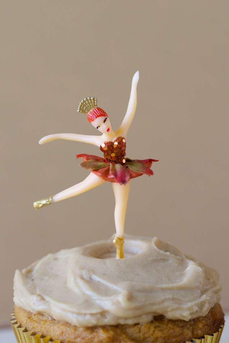 autumn fairy cupcake toppers | movita beaucoup