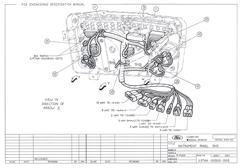 FORD MOTOR COMPANY LOUISVILLE KY ADDRESS - Auto Electrical Wiring
