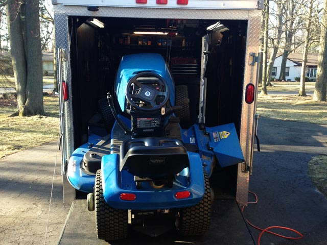 Riding Lawnmower Mobile Lawn Mower Repair Service Pictures | Mobile Lawn
