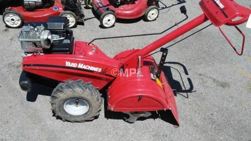 Medium Of Yard Machine Tiller