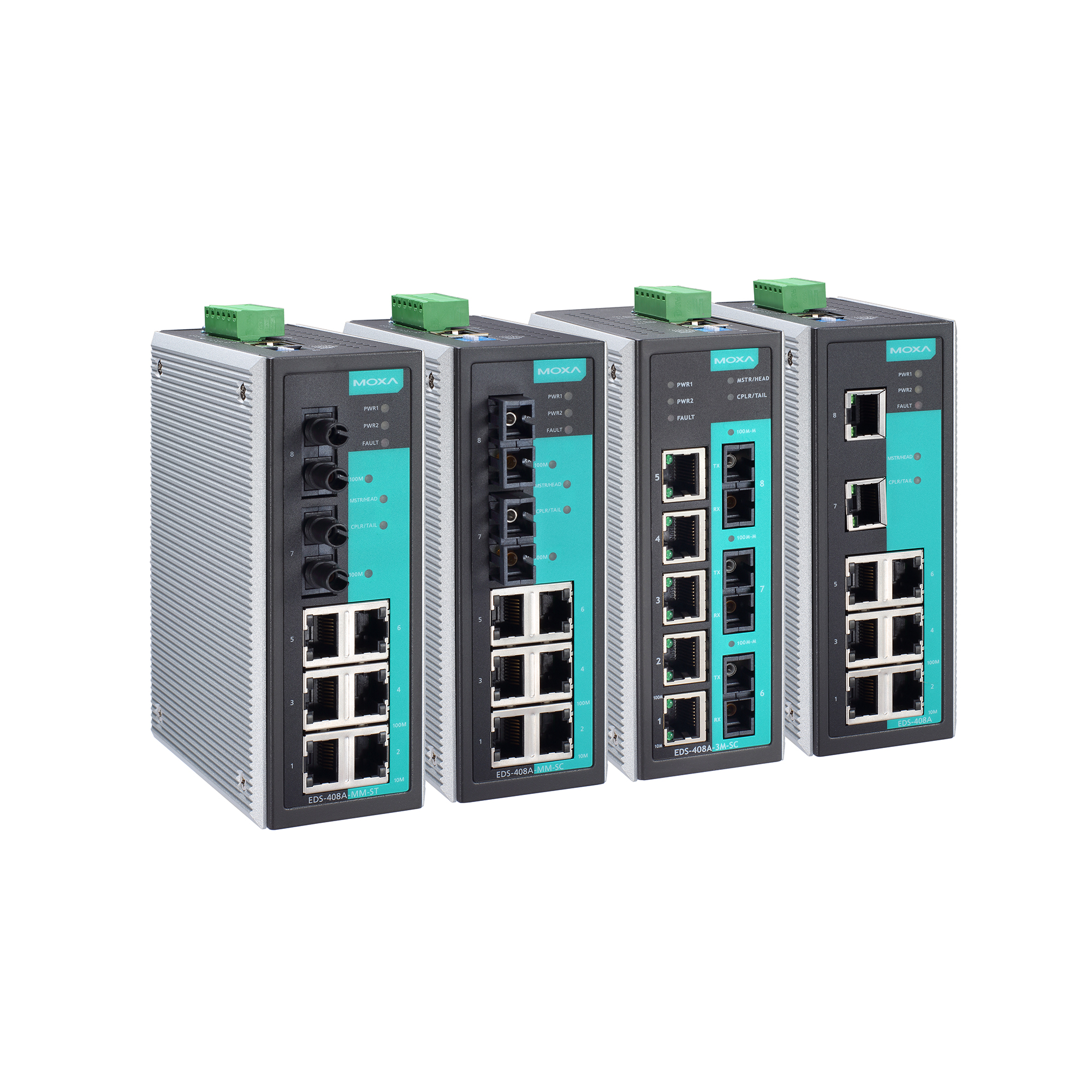 Moxa Switch Eds 408a Series Layer 2 Managed Switches Moxa