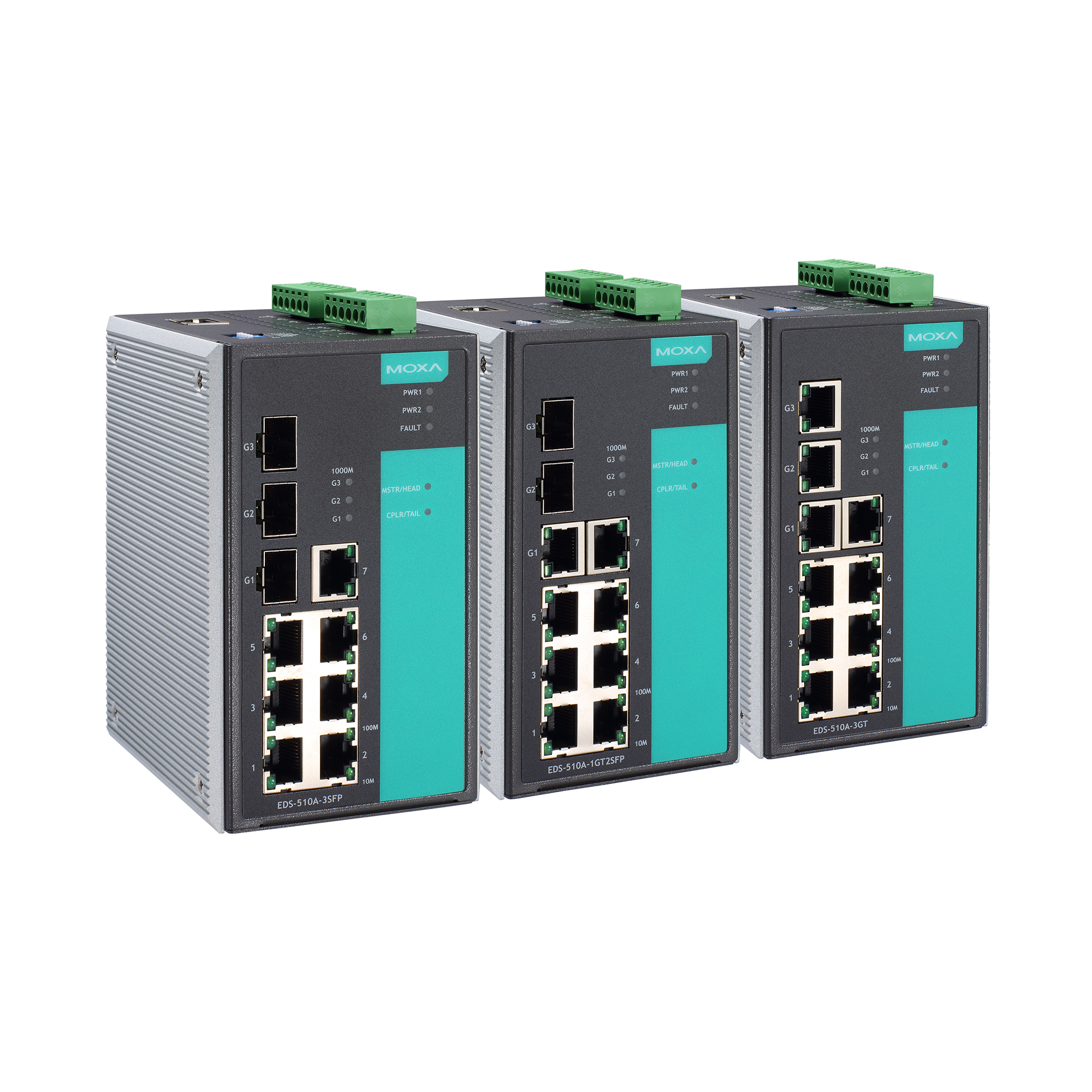 Moxa Switch Eds 510a Series Layer 2 Managed Switches Moxa