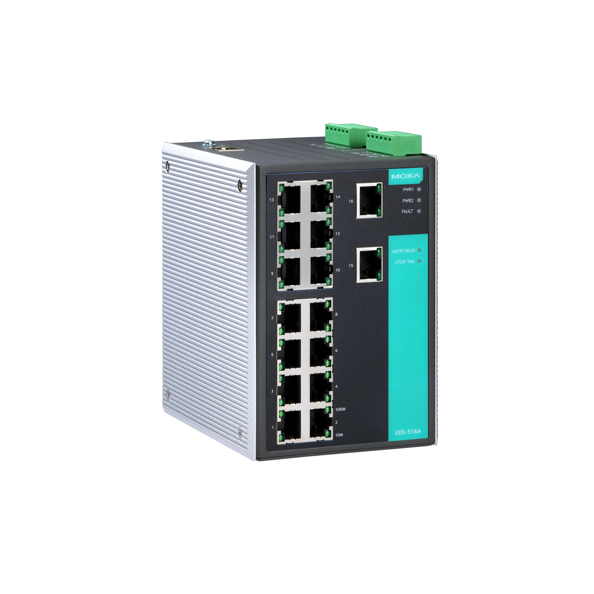 Moxa Switch Eds 516a Series Layer 2 Managed Switches Moxa
