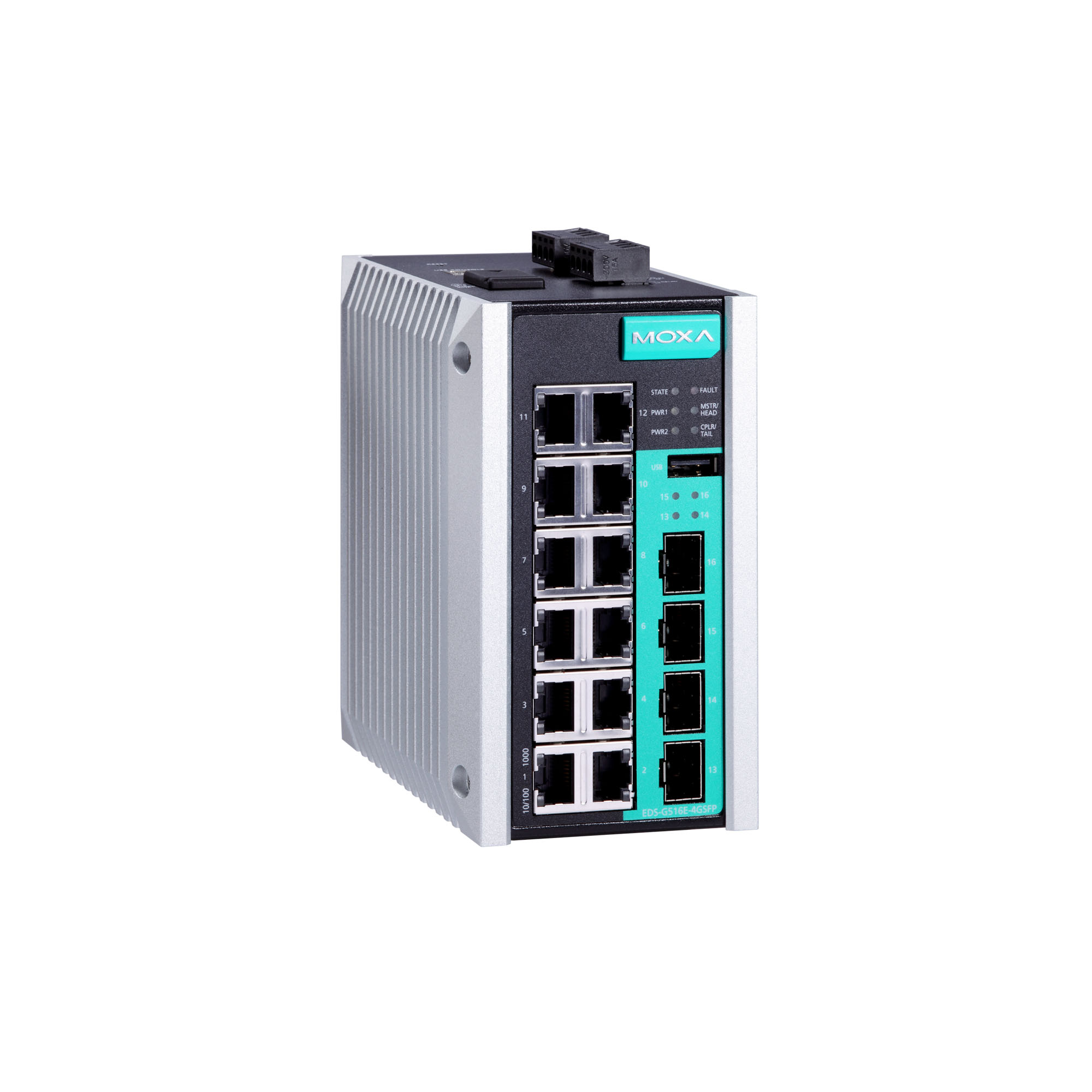 Moxa Switch Eds G516e Series Layer 2 Managed Switches Moxa