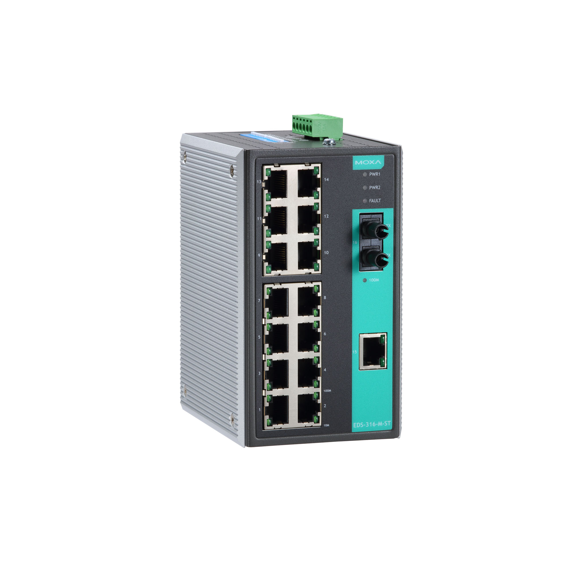 Moxa Switch Eds 316 Series Unmanaged Switches Moxa