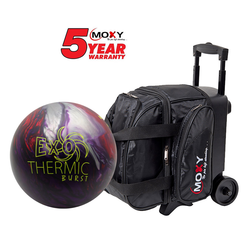 Moxy Exothermic Burst Ball And Single Deluxe Roller Bag - Single Küche Roller