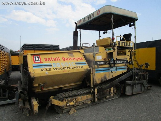 1 asphalting machine BITELLI BB 651 C year 1