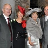 L. to R. Brendan Walsh, Sheila Langan, Patricia Walsh & Sean Walsh.