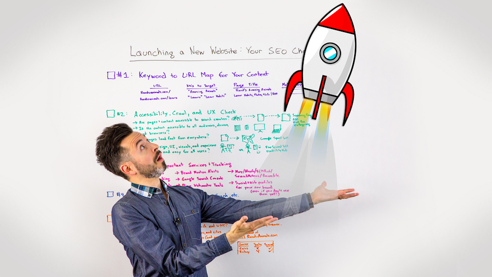 Launching a New Website Your SEO Checklist - Moz