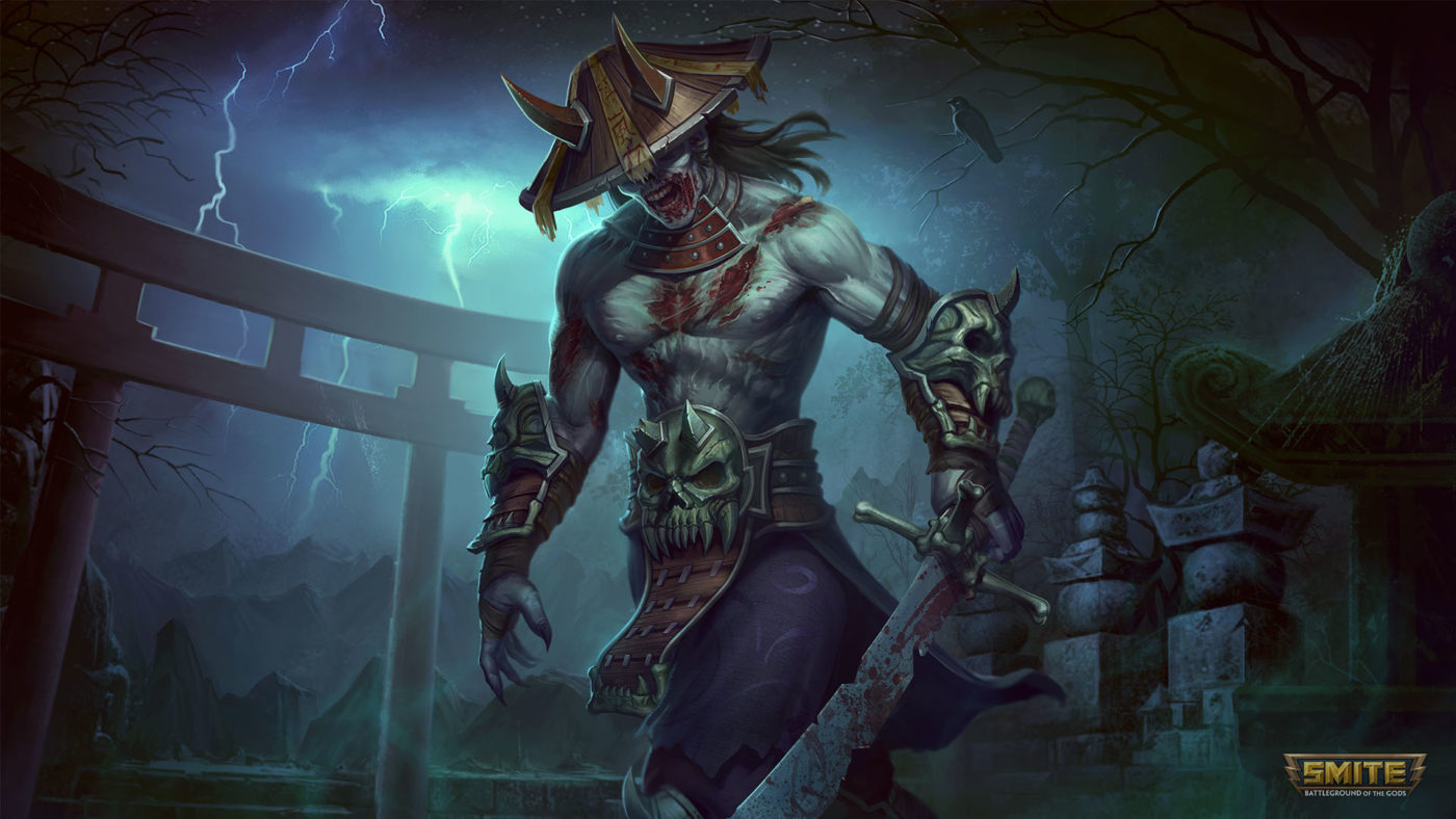 Hd Fish Live Wallpaper For Pc Smite Halloween Event 2017 Includes Ghoulish New Cosmetics