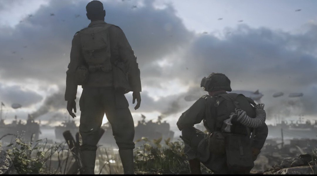 COD WW2 Player Count Steam Stats Show 20K Player Drop Since Launch