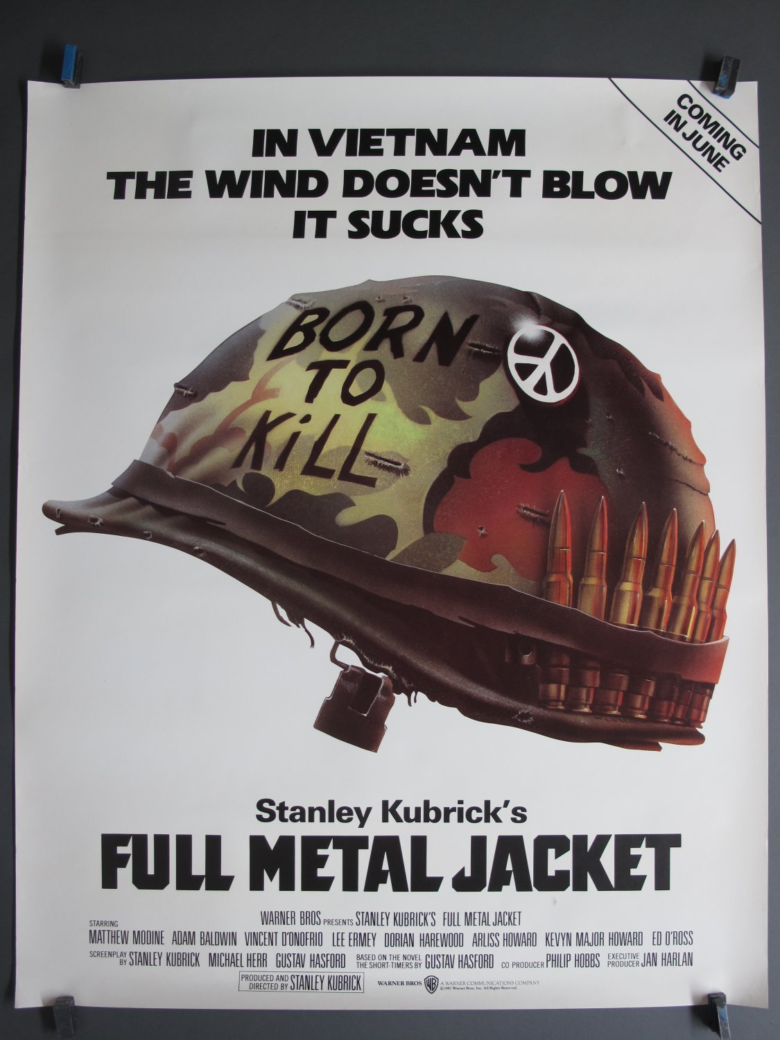 Poster 40x50 Full Metal Jacket 1987 Ds 40x50