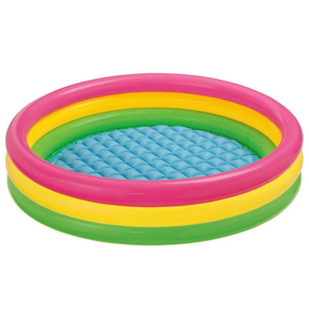 Piscinas Intex Site Piscina Inflável Pôr Do Sol Colorida 68 Litros Intex Mp Brinquedos