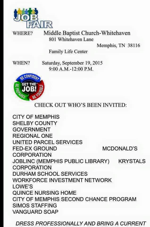 JobLINC Job  Career News from the Memphis Public Libraries Page 85