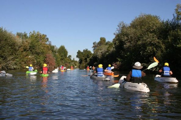 Sepulveda Basin (courtesy Paddle the LA River)
