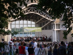 Summer, 2013 Pops Orchestra concert at Lake Harriet