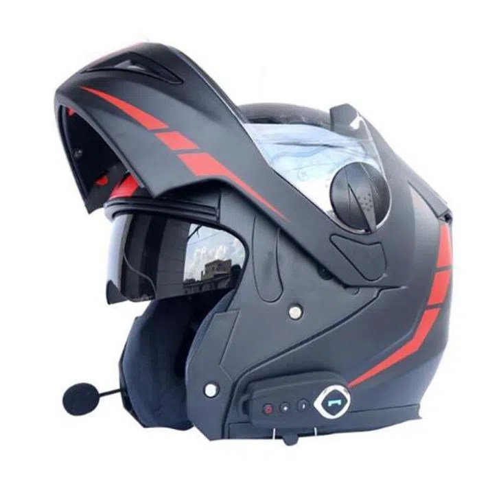 Wholesale Modular Manufacturers Wholesale Modular Bluetooth Motorcycle Helmet Dual Visor