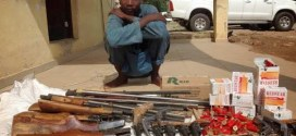 2 Ak-47 & Live Ammunitions Recovered From Civil Defence Officer