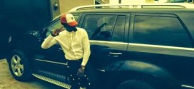 Rapper, Iceprince becomes first Nigerian to ride in Uber