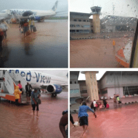 Flood Hits Brand New International Airport in Enugu State : Photos