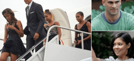 President Obama & Family Attend Their Family Chef's Wedding