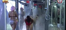 #BBAHotShots: Day 15 Shower Hour with Goitse, Sipe & Butterphly : Video [dl]