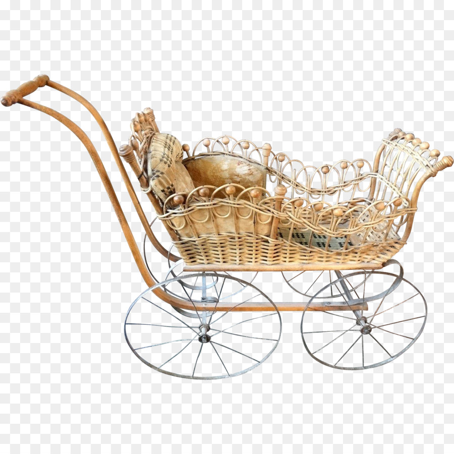 Vintage Toy Stroller Vintage Background