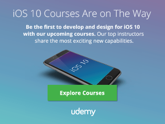 Top iOS 10 Swift 3 course Udemy Rob Percival, Mar Price