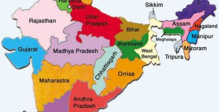 Map-India-Political Geography Answerkey CAPF 2013