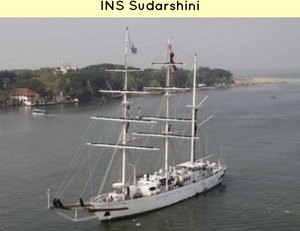 INS Sudarshini sent for India ASEAN