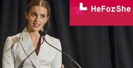 Emma Watson He for she campaign gender equality
