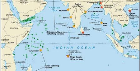 map Indian ocean rim association