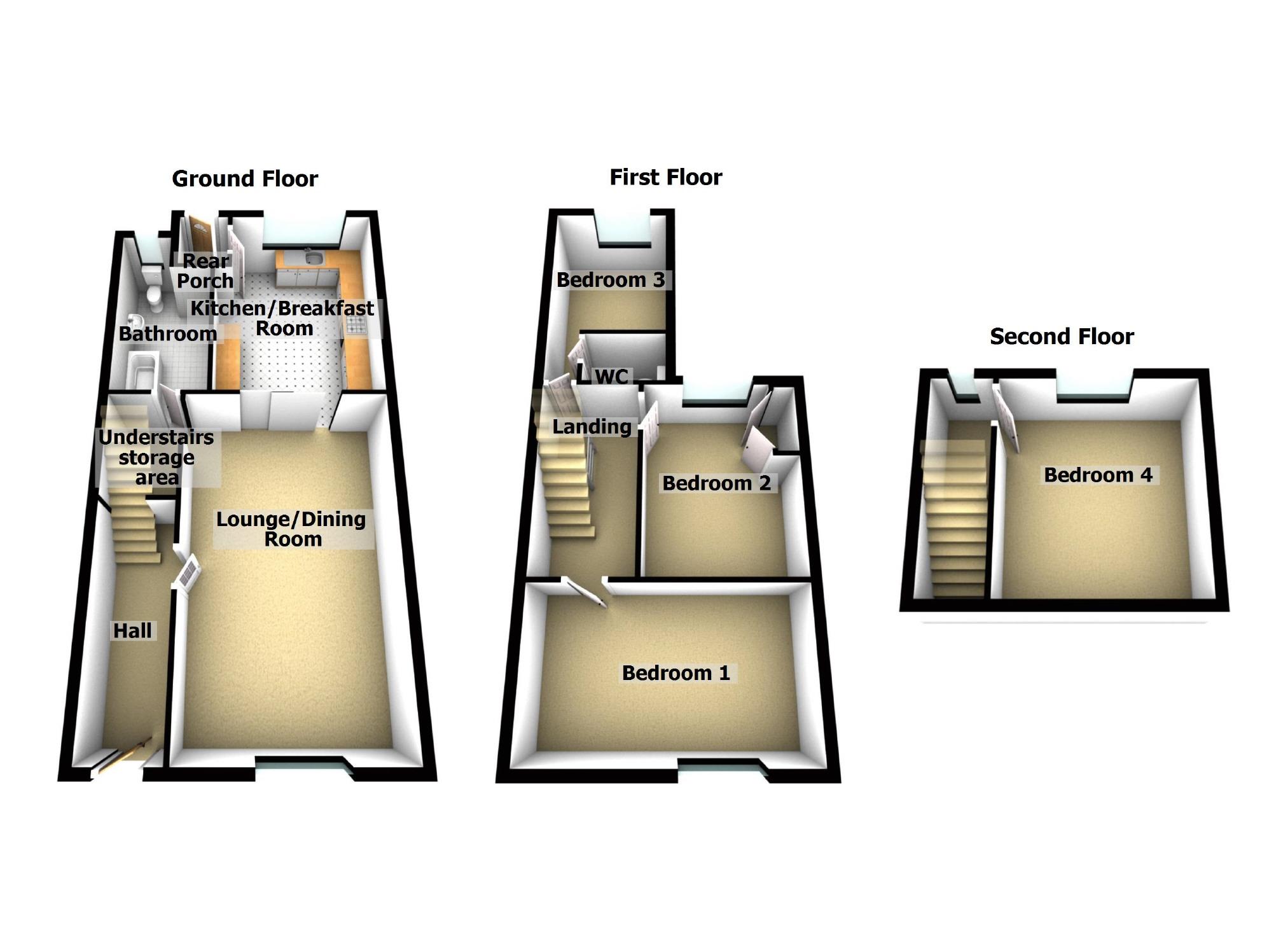 4 Bedroom Property For Sale In Carmarthen Road