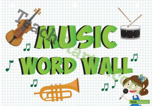 word wall mr a music place