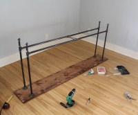 Coming Together: Our DIY Industrial Pipe Console Table ...