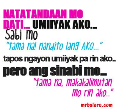 Heart Broken Quotes Hindi Wallpaper Broken Heart Ang Sakit Ng Paglimot
