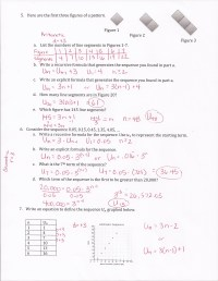Arithmetic Sequence Practice Worksheet - Breadandhearth