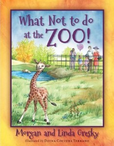 what not to do at the zoo