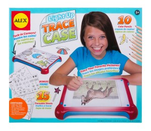 light up trace case alex toys