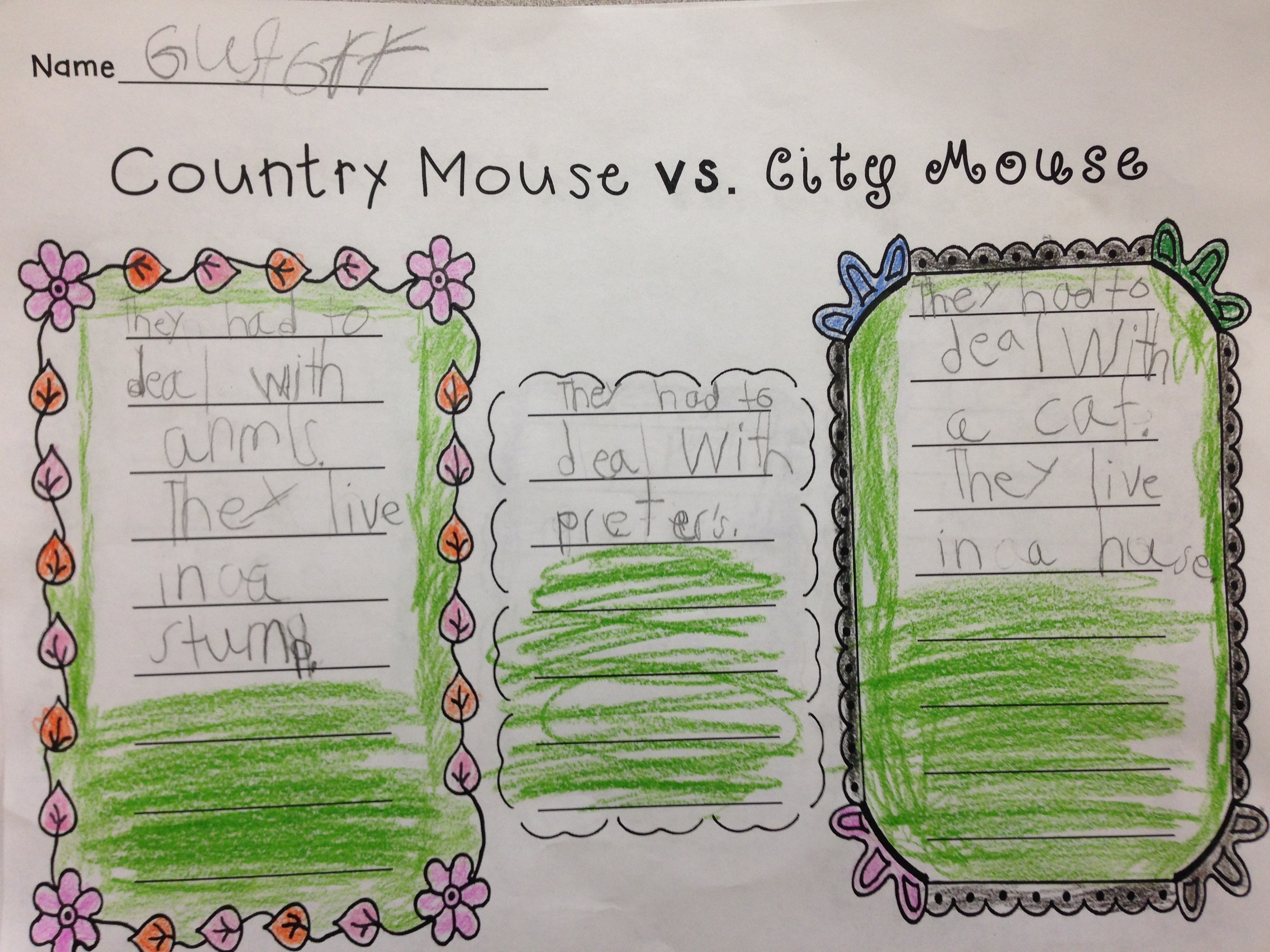 kindergarten venn diagram worksheet