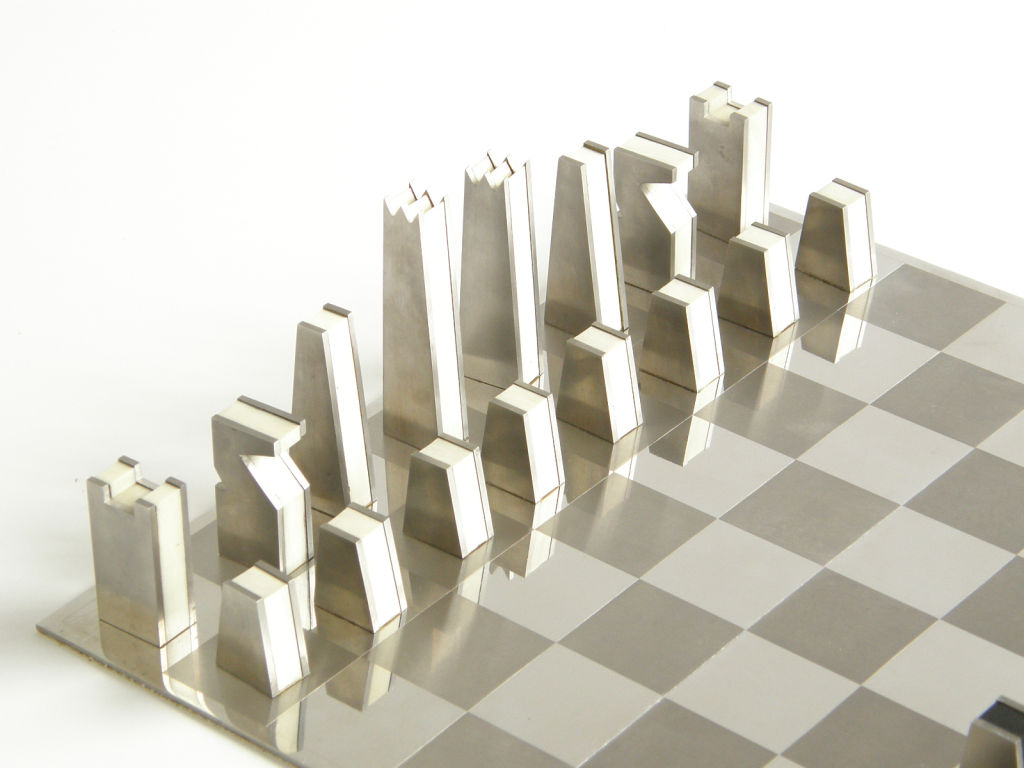 Steel Chess Pieces Chess Mr Deyo