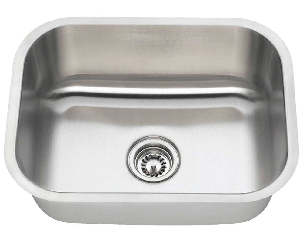 Kitchen Sink For 18 Cabinet 2318 Single Bowl Stainless Steel Kitchen Sink