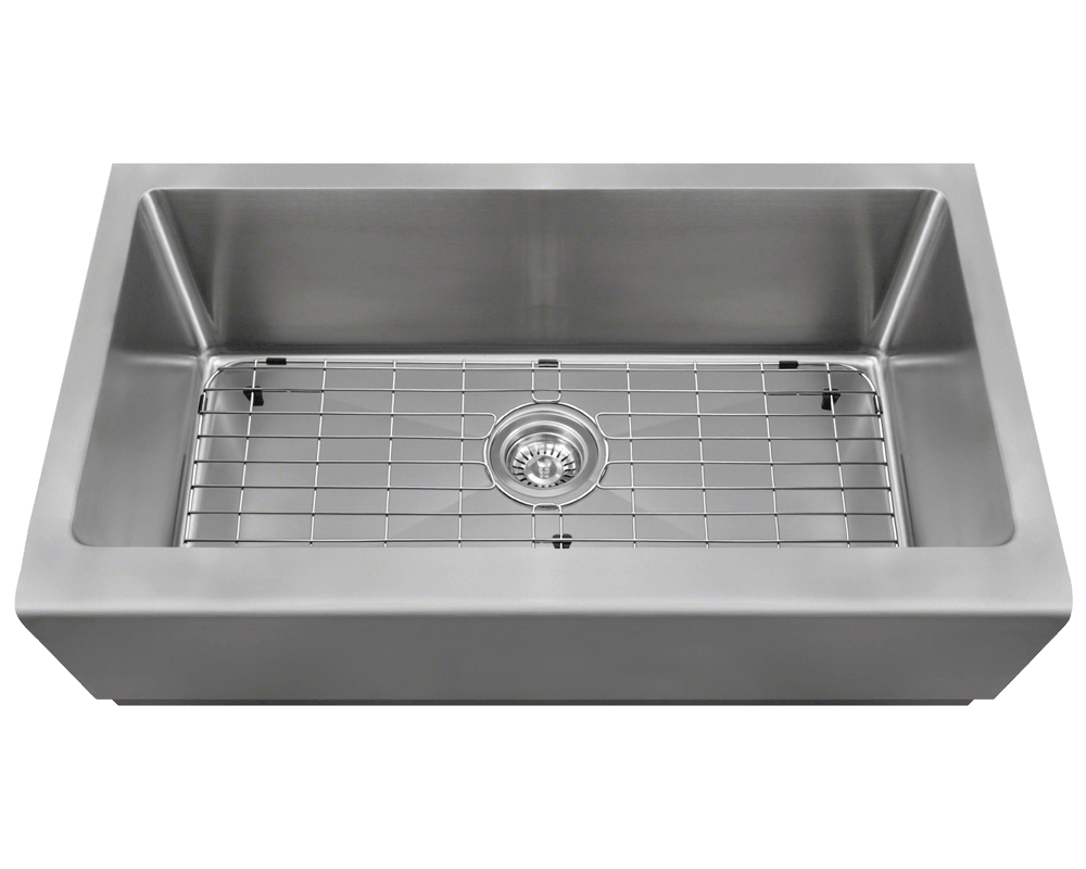 Stone Farmhouse Sink Lowest Price 405 Single Bowl Stainless Steel Apron Sink