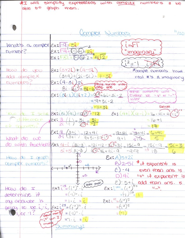 Cornell Notes - Mr G\u0027s Avid Class - Sample Cornell Note