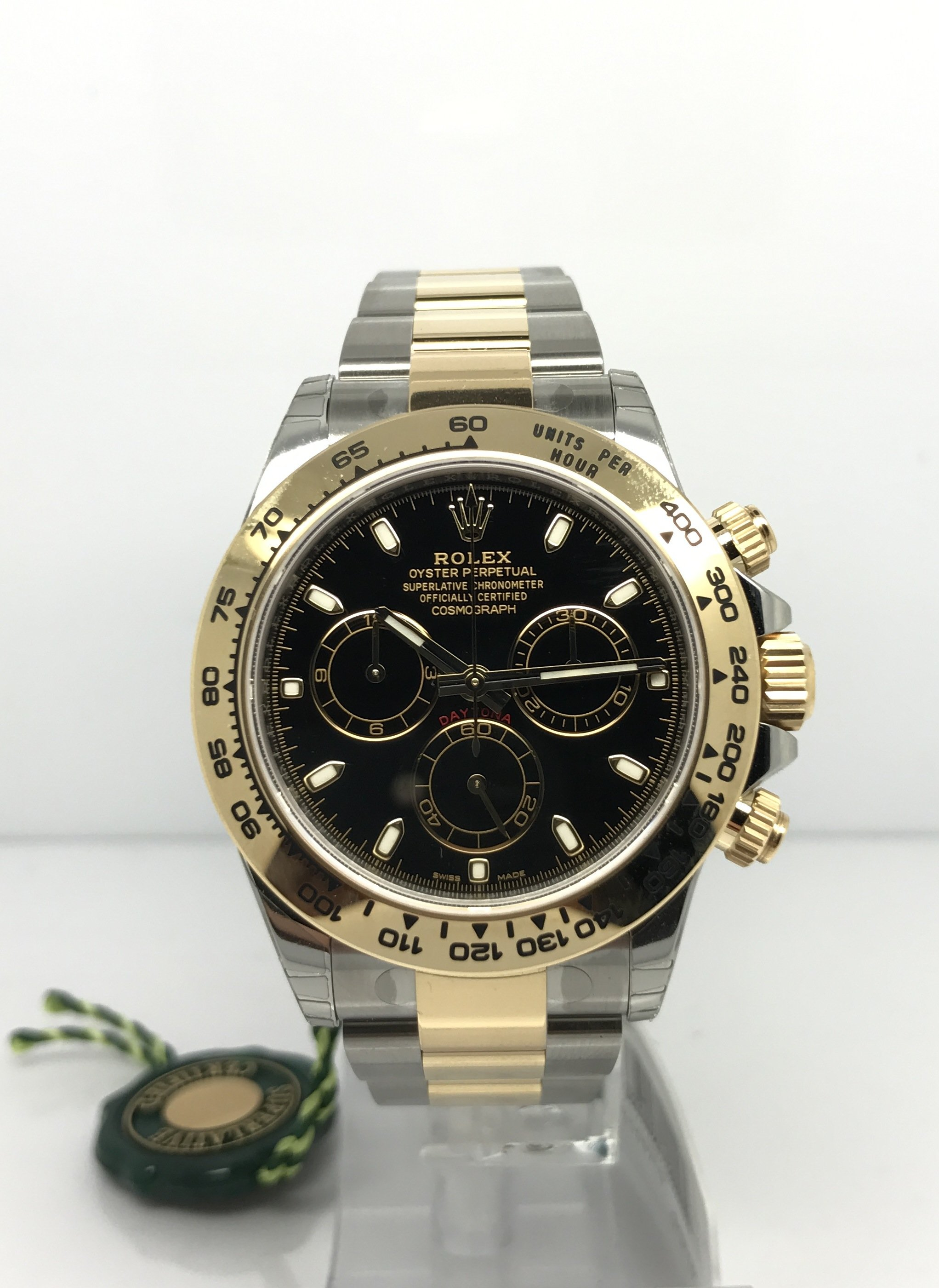 Rolex Oyster Perpetual Rose Gold Rolex Daytona Steel & Yellow Gold | M&r Gold Jewellers